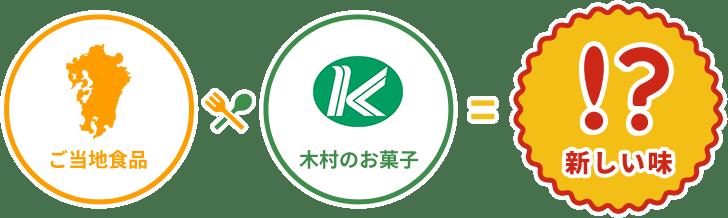 ご当地食品 × 木村のお菓子 = 新しい味!?